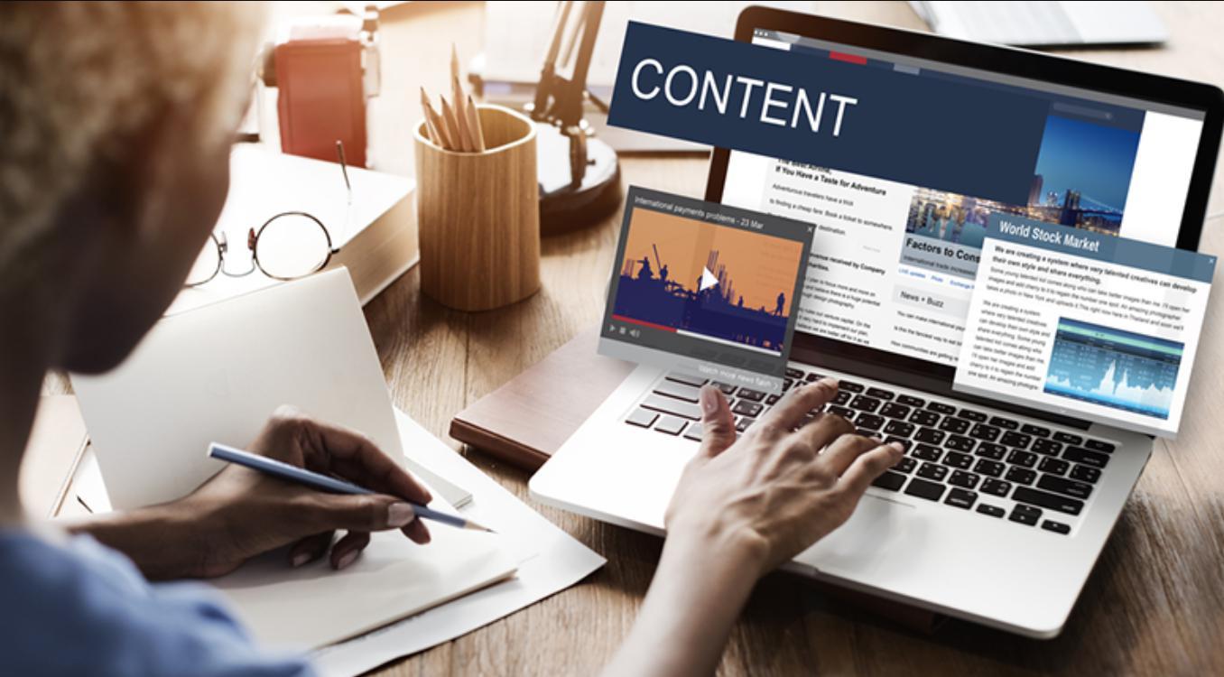 Chú trọng nội dung web